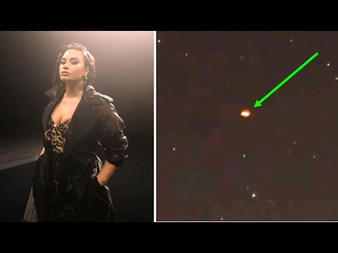 Demi Lovato Shares UFO Sightings On Instagram And Says She Contacted Aliens