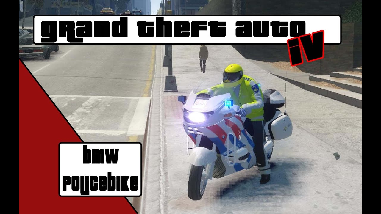 GTA 4 BMW police bike [NL]