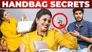 Baixar Iniya's HANDBAG Secrets Revealed | What's Inside the HANDBAG | Galatta Handbag