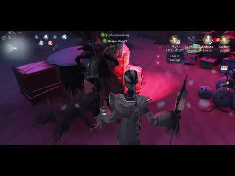 Identity V - Embalmer Gameplay (Exorcist Limited Costume) Tedious match ! Asia Server