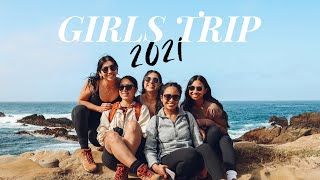 GIRLS TRIP 2021 | Big Sur & Carmel-by-the-Sea, meet my best friends and go on a road trip with us