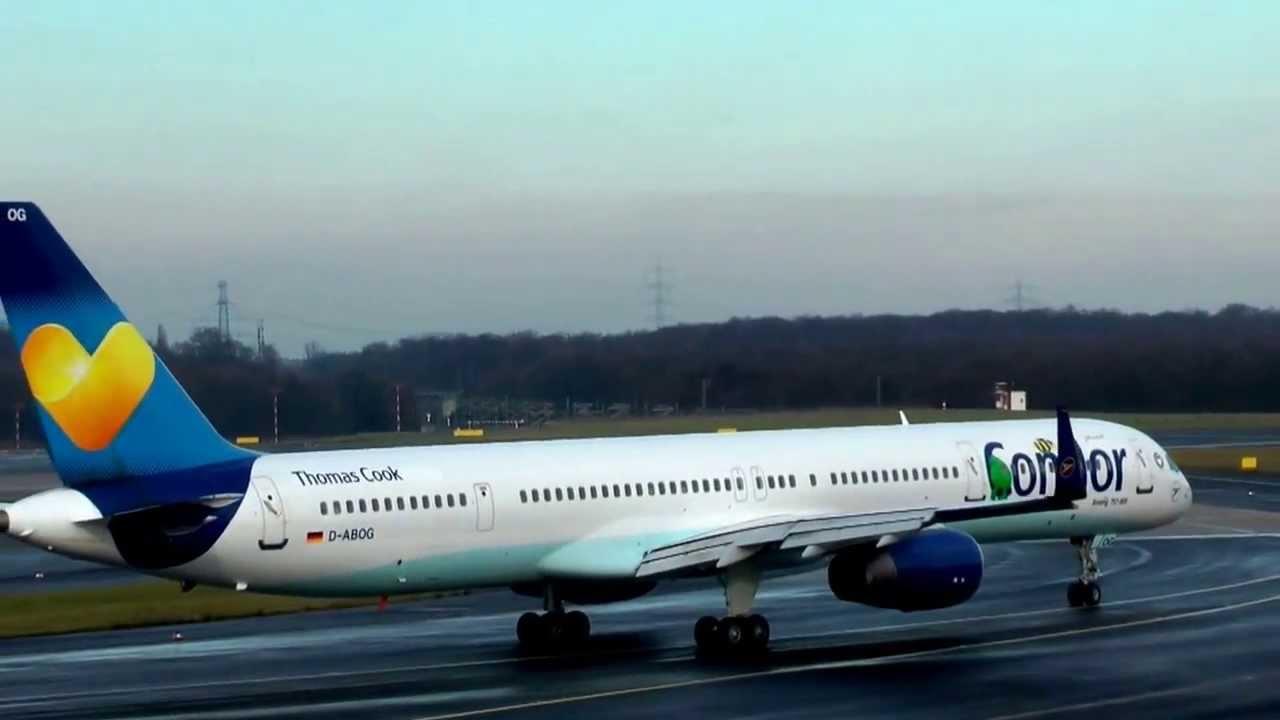 Abflug Condor Düsseldorf
