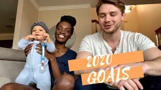 NEW YEAR GOALS | AISA AND WILLIAM