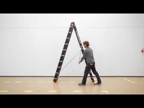 How to: Mounter reformladder in A-stand zetten | Altrex