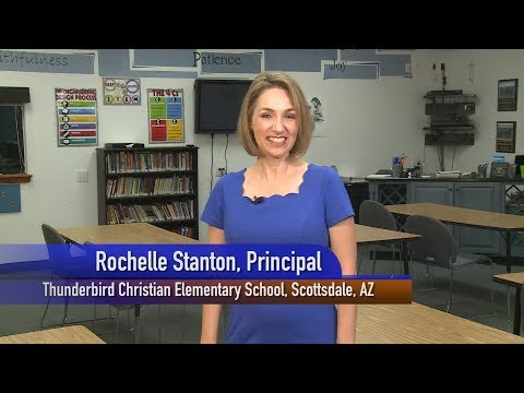 Thunderbird Christian Elementary School--Student Invitation