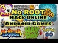 No Root Hack Any Android Online Game Without PC ( No Root )