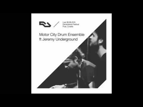 Motor City Drum Ensemble  Dimensions Festival, Croatia 30 August 2015
