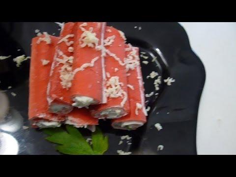 Крабовый салат (лучший рецепт салата с крабовыми палочками)из YouTube · Длительность: 1 мин42 с