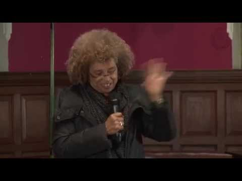 Angela Davis - Malcolm X Event - Oxford Union