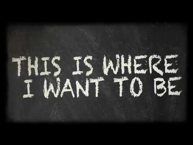 Where I Want to Be (The Blackbird Academy Version) Official Lyric Video