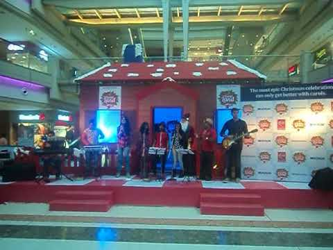 Times of india org @ Koram mall 2nd prize in carols competition dec15