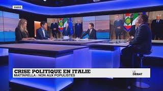 Crise politique en Italie : Sergio Mattarella dit