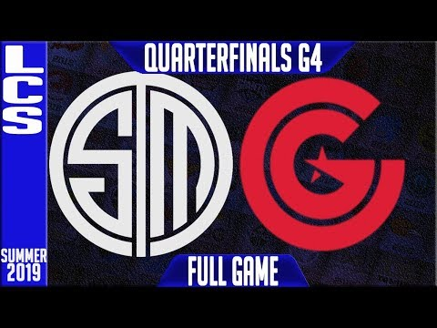 TSM vs CG Highlights Game 4 | LCS Summer 2019 Playoffs Quarterfinals | Team Solomid vs Clutch Gaming