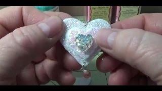Diy~valentine's Day Felt Sugar Heart Necklace! Easy & Inexpensive!