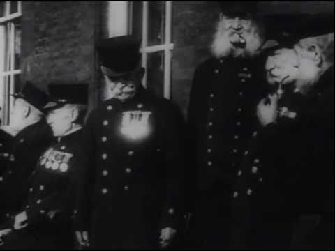 Veterans of the Crimean War - Historical Footage (1911)