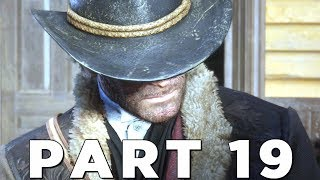 RED DEAD REDEMPTION 2 Walkthrough Gameplay Part 19 - THIEF (RDR2)