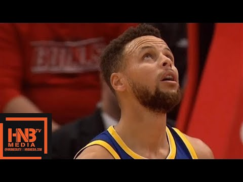 Golden State Warriors vs Chicago Bulls 1st Half Highlights / Jan 17 / 2017-18 NBA Season