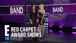 Kat Dennings and Beth Behrs Present at People's Choice Awards 2012