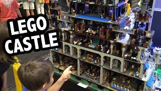 Giant LEGO Castle with Interior Rooms   Brick Fiesta 2019