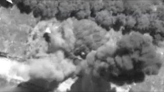 Кадры уничтожения замаскированной ракетной установки ХАМАСа.АТО в Израиле.Сектор Газа.Видео