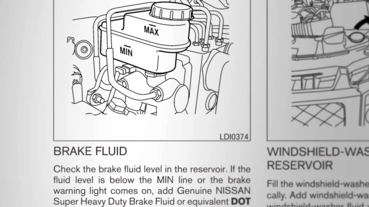 2012 Nissan Armada Fluid Check Points Youtube Brakes Diagram