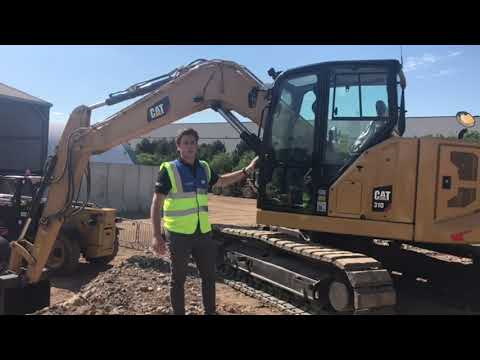 The Cat 310 - An Overview Of Caterpillar's First Ever 10-tonne Excavator