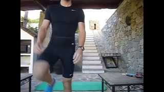 Freeletics - SPLIT LUNGE (207 reps)