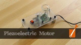 Repeat youtube video Piezoelectric motor