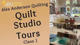 Alex Anderson LIVE: Quilting Studios - Class 1