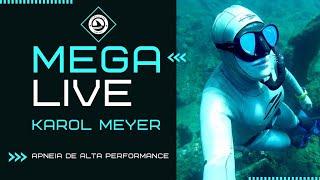 Karol Meyer - Live sobre APNEIA - TREINO DE APNEIA