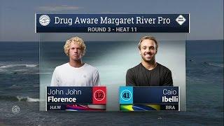 2016 Drug Aware Margaret River Pro: Round 3, Heat 11 Video