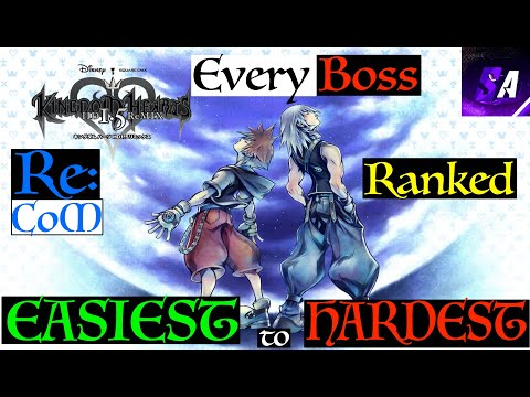 All Kingdom Hearts Re:Chain Of Memories Bosses Ranked Easiest To Hardest
