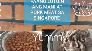 how to cook pork soup with peanuts (Singapore)