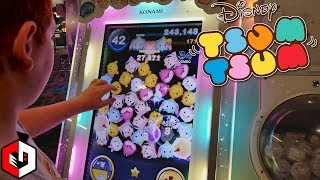 Checking Out Disney Tsum Tsum Arcade Game at Round1