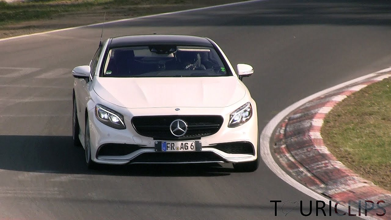 2015 Mercedes-Benz S500 and S63 AMG Coupe testing on the ...