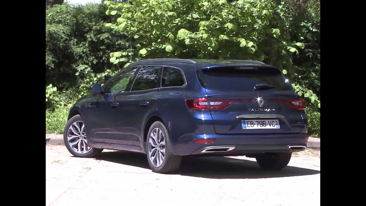 essai renault talisman estate 1 5 dci 110 business 2016 youtube. Black Bedroom Furniture Sets. Home Design Ideas