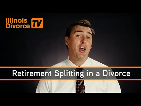 Do You Have to Split Your Retirement with Your Spouse in A Divorce?