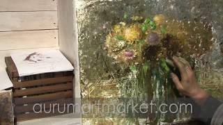 Видео урок Японский сад экзотических хризантем