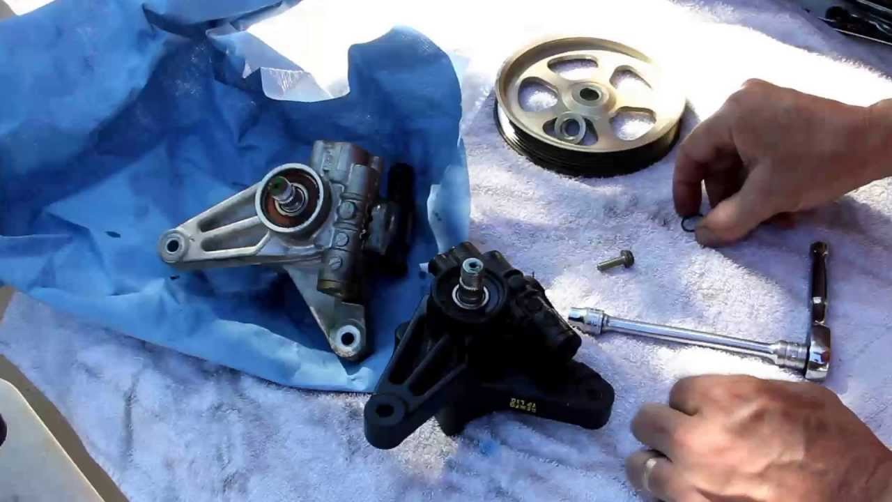Awesome 2005 Honda Odyssey Power Steering Pump Replacement
