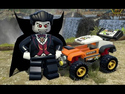 Lego City Undercover Ps4 All 120 Vehicles Unlocked 2 Bonus Missions Completed Youtube
