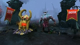 Dota 2 Undying - Golden Pale Mausoleum custom animation preview