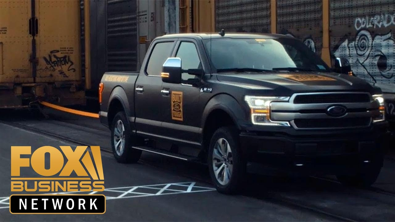 FOX Business Ford to produce all-electric F-150 pickup