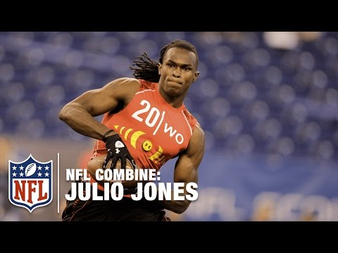 Julio Jones (WR, Alabama) | 2011 NFL Combine Highlights