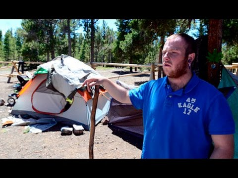 Homeless Camping in Boulder County