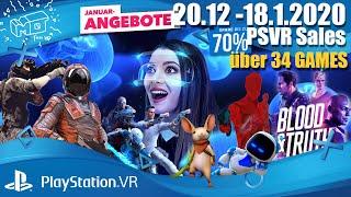 Playstation VR Januar sales / 20.12.2019 - 18.1.2020 / deutsch / german