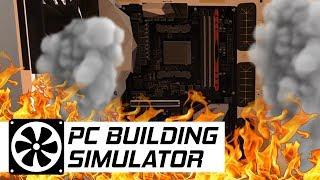 NAJGORZEJ! Spalona płyta główna - PC Building Simulator #12