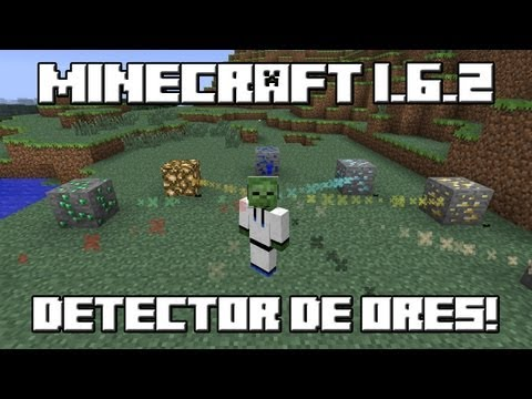 A Simple Diamond Detector - With One Command - Minecraft