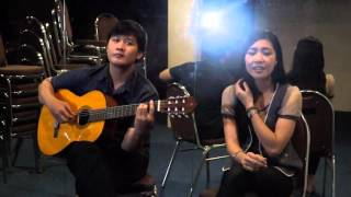 Download Just For You by Dinda & Abdul (The Coffee Theory) - COVER song by Felicia Grace