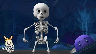 Skeleton Dance | Funny Kids Songs | Animated Children Stories | Scary Rhymes