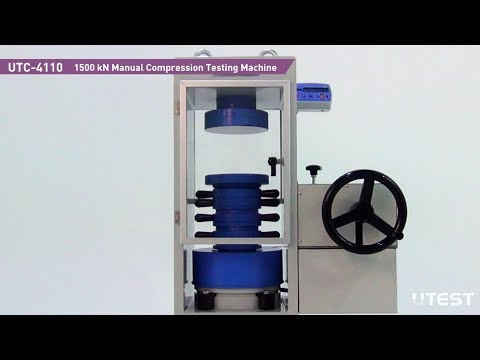 UTC 4110, Manual Compression Machine,EN